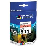 Tusz BLACK POINT CANON CL511 kolorowy