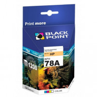 Tusz BLACK POINT HP C6578A nr 78A trójkolorowy