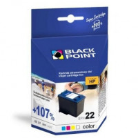 Tusz BLACK POINT HP C9352 nr 22 trójkolorowy
