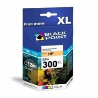 Tusz BLACK POINT HP CC643EE nr 300XL trójkolorowy