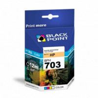 Tusz BLACK POINT HP CD888AE nr 703 trójkolorowy