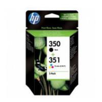 Tusz HP SD412EE nr 350 + 351 zestaw tuszy czarny + trójkolorowy