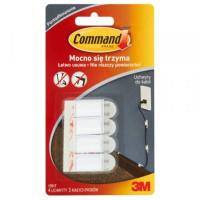 Uchwyt do kabli 3M COMMAND średni, biały 4szt.