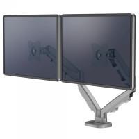 Uchwyt na 2 monitory FELLOWES Eppa - srebrne 9683301