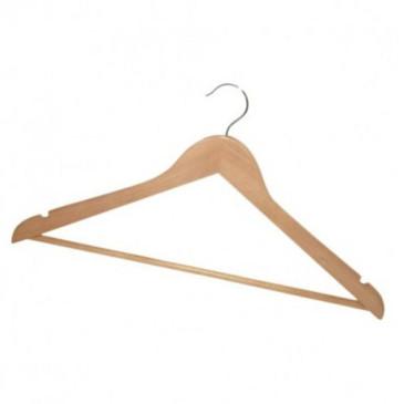 Wieszak na ubrania drewniany 1szt.