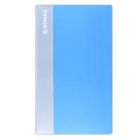 Wizytownik DONAU PP na 480 wizytówek jasno-niebieski