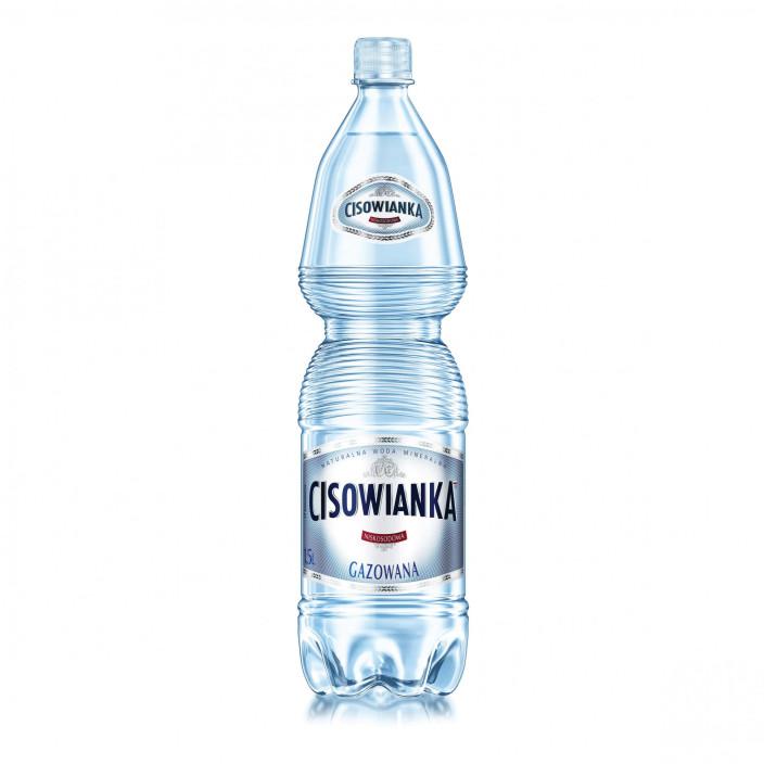 Woda CISOWIANKA gazowana 1,5l 6szt.