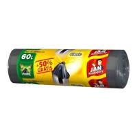Worki na śmieci JAN NIEZBĘDNY HD z taśmą 60l 10szt.