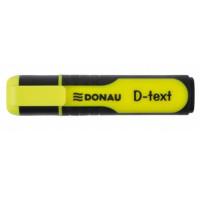 Zakreślacz DONAU D-Text żółty