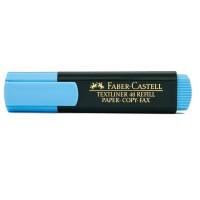 Zakreślacz FABER-CASTELL TEXTLINER 48 niebieski