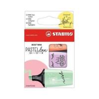 Zakreślacz STABILO Boss Mini Pastel kpl. 3 szt. 07/03-47