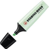 Zakreślacz STABILO BOSS Pastel zielony 70/116