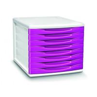Zestaw 8 szuflad CEP Pro Gloss różowy