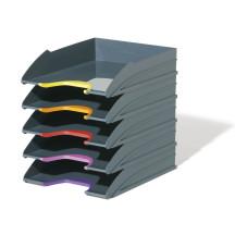 Zestaw półek na dokumenty DURABLE Varicolor 5szt.