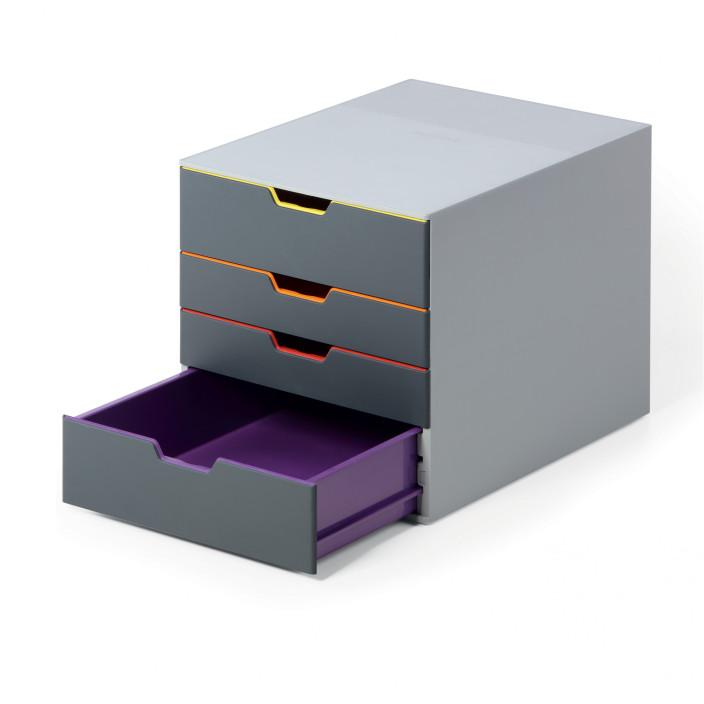 Zestaw szuflad DURABLE VARICOLOR 4 szuflady