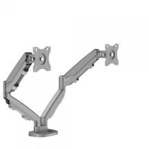 Zestaw z 1 ramieniem do rozbudowy na 2 monitory EPPA srebrny