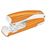 Zszywacz LEITZ Wow 5502 do 30 kartek metaliczny pomarańczowy